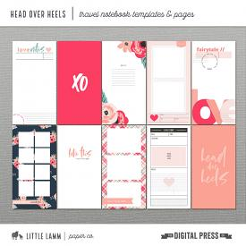 Head Over Heels│Travel Notebook Templates