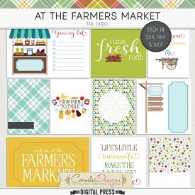 AT THE FARMERS MARKET | POCKET CARDS