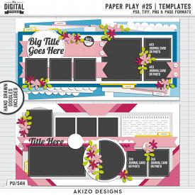 Paper Play 25 | Templates