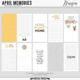 April Memories | Traveler's Notebook