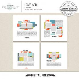 Love April - Templates