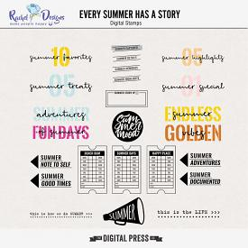 Every Summer Has A Story | Stamps