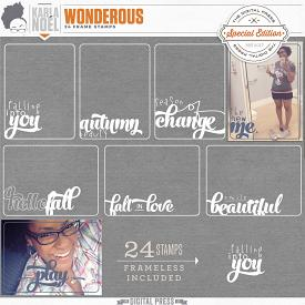 Wonderous | Frame Stamps