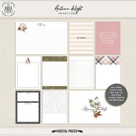 Autumn Delight | pocket cards