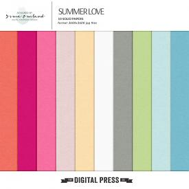 Summer love - solid papers