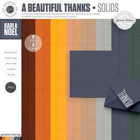 A Beautiful Thanks | Solids
