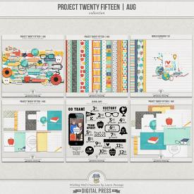 Project Twenty Fifteen | August Collection
