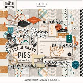 Gather | Scrapbook Kit