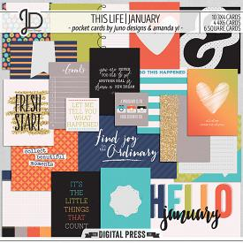 This Life | January - Pocket Cards
