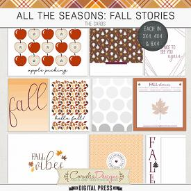 ALL THE SEASONS: FALL STORIES | CARDS