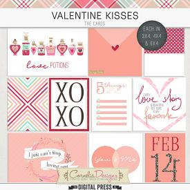 VALENTINE KISSES | POCKET CARDS