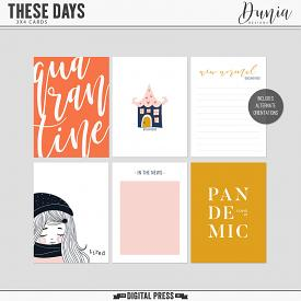 These Days | 3x4 Cards