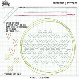 Weekend | Stitches