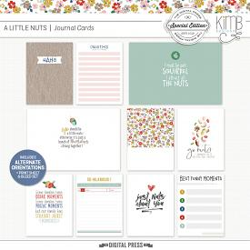 A Little Nuts | Journal Cards