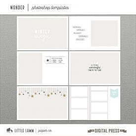 Wonder | Photoshop Templates