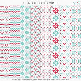Cozy Knitted Winter Patts (CU)