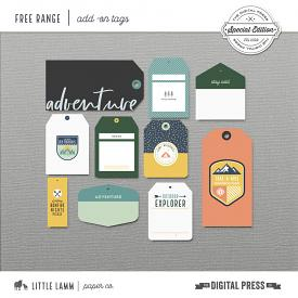 Free Range│Add On Tags
