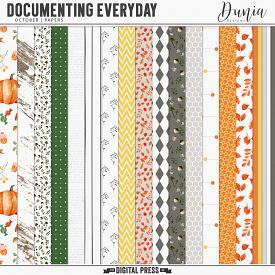 Documenting Everyday | October - Papers