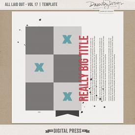 All Laid Out - Vol 17 | Template
