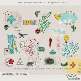 Great Escape:  New Mexico   The Pins & Paints