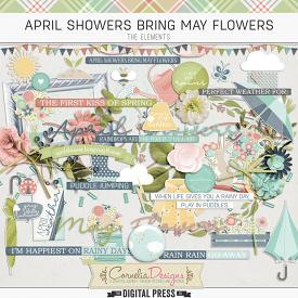 APRIL SHOWERS BRING MAY FLOWERS | ELEMENTS