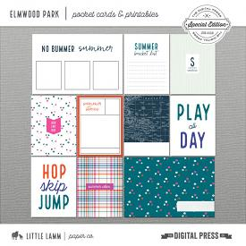 Elmwood Park│Pocket Cards and Printables