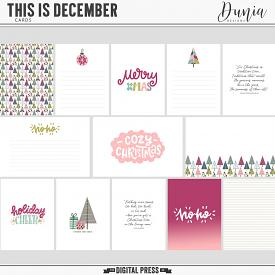 This is December | Cards