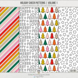 Holiday Cheer Patterns | Volume 1 (CU)