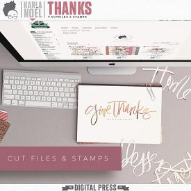 Thanks | Cut Files & Stamps