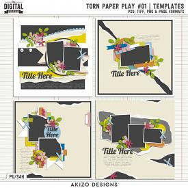 Torn Paper Play 01 | Templates