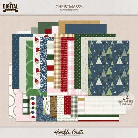 Christmassy | 6x8 Papers
