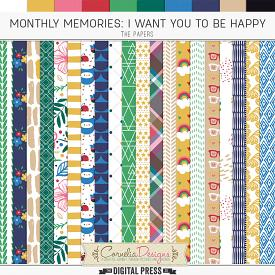 MONTHLY MEMORIES: I WANT YOU TO BE HAPPY| PAPERS