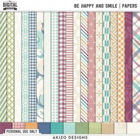 Be Happy And Smile | Papers