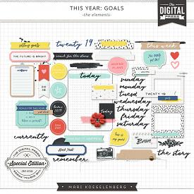 This Year: Goals | The Elements