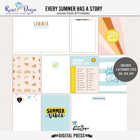 Every Summer Has A Story | Pocket Cards