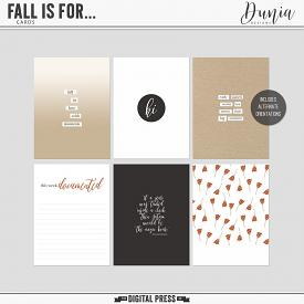 Fall Is For...  Cards