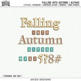 Falling Into Autumn | Alphas