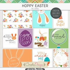 HOPPY EASTER | POCKET CARDS
