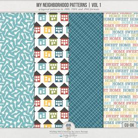 My Neighborhood Patterns Volume 1 (CU)