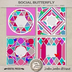 Social butterfly | Templates