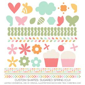 Sugared Spring Shapes (CU)