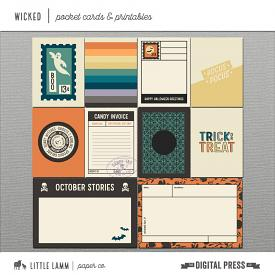 Wicked│Pocket Cards and Printables