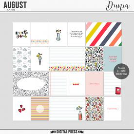 August | Cards