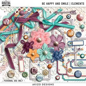 Be Happy And Smile   Elements