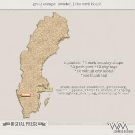 Great Escape:  Sweden | The Corkboard
