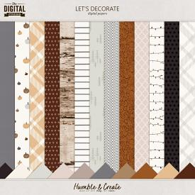 Let's Decorate | Papers