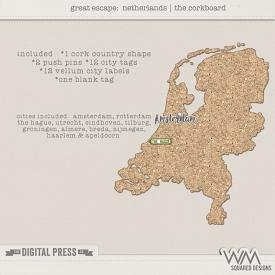 Great Escape:  Netherlands | The Corkboard