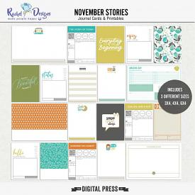 November Stories | Pocket Cards