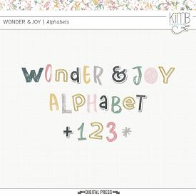 Wonder & Joy | The Alphabets