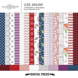 Love January - Papers